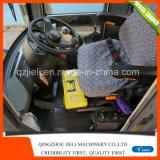 cargador del frente del cargador del cargador de la rueda de la retroexcavadora 1.2ton mini