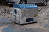 forno a camera 1200c con il tubo del quarzo per la strumentazione di laboratorio