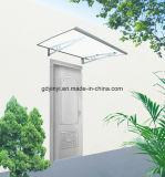 Напольный тент двери поликарбоната DIY с алюминиевым кронштейном (YY1000-K)