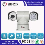 câmera do CCTV do veículo PTZ do IR da visão noturna do zoom 100m de 2.0MP 20X
