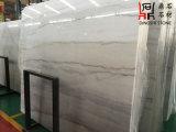 Слябы Guangxi мрамора китайской белизны белые мраморный для домашнего украшения