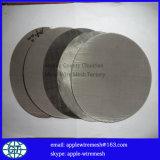 Rete metallica dell'acciaio inossidabile in disco