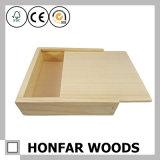 未完成の良質の木のギフト用の箱の宝石箱