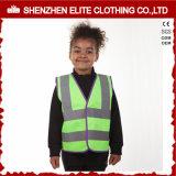 Het in het groot Hoge Vest van de Veiligheid van de Kinderen van het Zicht Gele Weerspiegelende