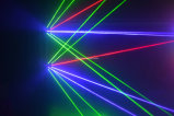 Cabeça movente do feixe largo do laser da aranha do laser de 8 lentes