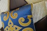 Hoofdkussen van het Fluweel van de Manier van het Kussen van het borduurwerk het Decoratieve (EDM0337)