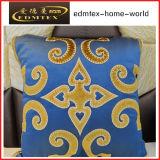 Almohadilla decorativa del terciopelo de la manera del amortiguador del bordado (EDM0337)