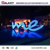 Afficheur LED de publicité incurvé polychrome /LED Sign/LED Screen/LED de galaxie annonçant P2.98/P3.91/P4.81/P5.95