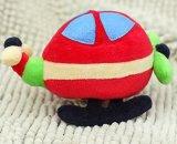 소형 견면 벨벳 비행기 모양 인형 장난감