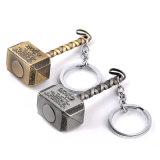 """Do """"jóia da corrente chave do filme do pendente do martelo do Thor do metal da jóia de Keychain da colar da identificação da liga do martelo Loki"""" do Thor"""