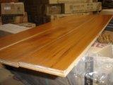 Plancher en bois conçu par teck de la Birmanie