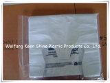 De Transparante Plastic Zak van uitstekende kwaliteit van de Ritssluiting met Schuif