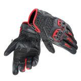 Мотоцикл кожаный перчаток высокого качества участвуя в гонке перчатки (MAG90)
