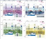 Карточки конструкции евро бумажные играя/карточки покера играя с конструкцией евро