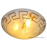 Luz de teto de vidro redonda moderna do mais baixo preço para a decoração interna
