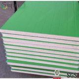 Pannello a sandwich del poliuretano dell'unità di elaborazione di prezzi di m2 per il soffitto