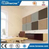 Panneau de mur en gros de fibre de verre d'écran antibruit de la Chine