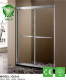 シャワー機構を滑らせるアルミニウムフレームガラス中国製
