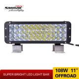 Alta barra chiara del CREE 3W 12V 24V LED di riga di luminosità tre per i veicoli fuori strada della jeep