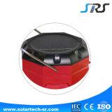 Luz que acampa solar de la nueva alta calidad LED con la fábrica de los SENIORES del cargador del teléfono celular