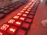 semaforo pedonale di elettricità statica LED di 300mm/segnale stradale con l'obiettivo del policarbonato