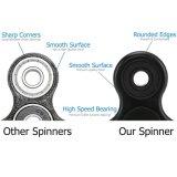 Aliviar el estrés luz del aire Finger Fidget mano Spinner Toy