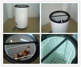 refrigerador de vidro de dobramento do tambor do refrigerador do partido da porta 40L