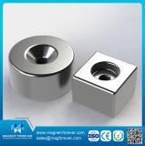 Magneet de van uitstekende kwaliteit van de Basis van NdFeB van het Neodymium van de Zeldzame aarde