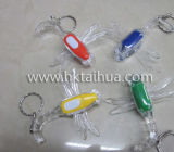 Las ventas calientes venden al por mayor LED Keychain con THK-026