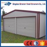 Garages portatifs en acier préfabriqués pour la maison ou l'usage commercial