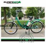 E-Bicicleta da bateria de lítio com pedal
