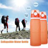 Бутылки воды силикона складные для спорта