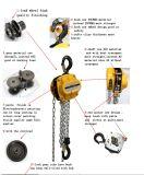 Elevador de corrente manual 2016 10 Ton com gancho de metal