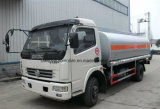 Dongfeng 4*2 6000 litros de depósito de gasolina 7000 litro caminhão do transporte do petróleo
