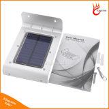 IP65 16 LED солнечной энергии Датчик лампы Звук / Детектор движения Безопасность Свет Сад Открытый Водонепроницаемый