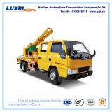 Einfacher u. leistungsfähiger Leitschiene-Pfosten-Fahrer-LKW für Leitschiene-Sicherheitsschranke-Installation