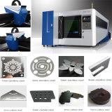 Machine de découpage de commande numérique par ordinateur de fibre en métal de laser du coût bas 3015/4020/6020