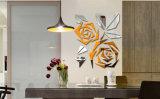 De acryl Sticker van de Muur van het Beeld van de Spiegel 3D