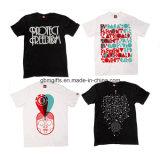 Modèle de T-shirt de 2016 ventes en gros, impression de T-shirt, T-shirt blanc
