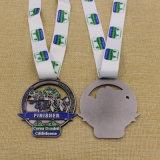 Medaille van de Afwerker van de Marathon van het Metaal van de douane de Antieke Zilveren voor Gebeurtenissen