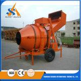 De zelf Concrete Mixer van de Lading voor Verkoop, de Overhellende Concrete Mixer van de Trommel, de Motor van de Concrete Mixer