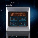 Programmable рамка металла переключателя касания термостата подпольного топления (SK-HV2000-L)