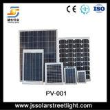 Panneaux solaires de silicium de monocristal et de silicium polycristallin
