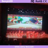 Parete locativa dell'interno dello schermo di visualizzazione LED video per fare pubblicità