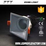 Alta calidad LED Downlight IP65 cuadrado LED Downlight para arriba abajo de la luz en China