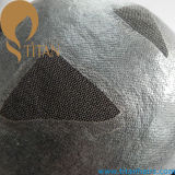 Toupee шнурка прозрачного Toupee кожи швейцарский (TT584)