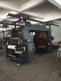 4 de Machine van de Druk van Flexo van de Zak van het Document van de kleur om Te winkelen