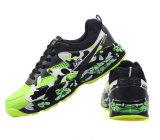 Les chaussures brillantes de sports d'hommes de couleur avec lacent vers le haut (YN-28)