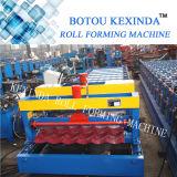 La alta calidad 1035 coloreó el rodillo de acero esmaltado del azulejo de azotea que formaba la máquina