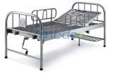 스테인리스 병원 가구, 환자를 위한 1개의 불안정한 수동 병원 간호 침대